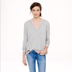 J. Crew Cashmere V-neck Sweater